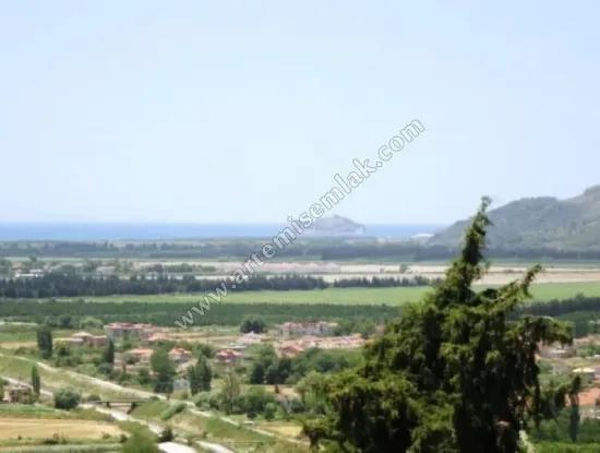 Dalaman And Dalaman Land For Sale With Full Sea View In The Village Of Honor . Muğla Dalaman Land For Sale 900.000 Tl Of Honor To A Message : Security Code : Fbid Arrow