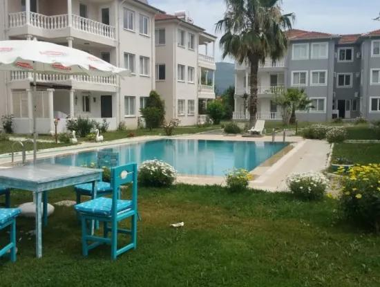 Fully Furnished With Pool For Sale In Dalaman Center, 3 1 Site.