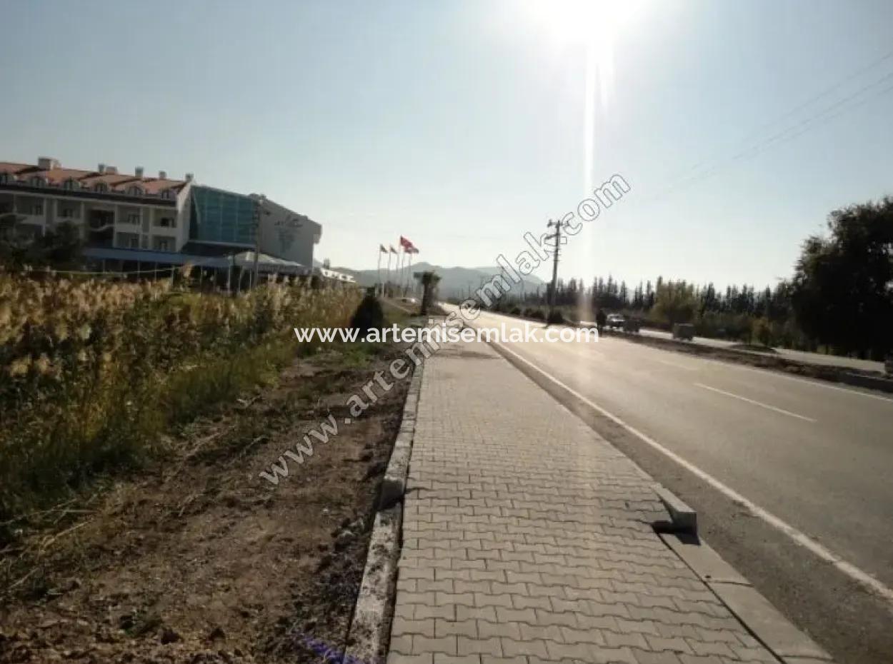 Dalaman Havalimanı Yolunda Satılık Arsa .428 M2.