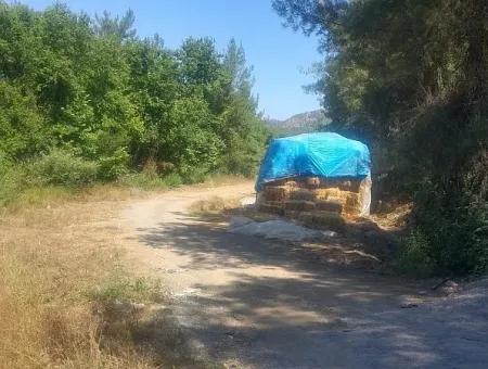 Dalaman Da Karacaağaç Köyünde Satılık Müstakil Tarla .7200M2.